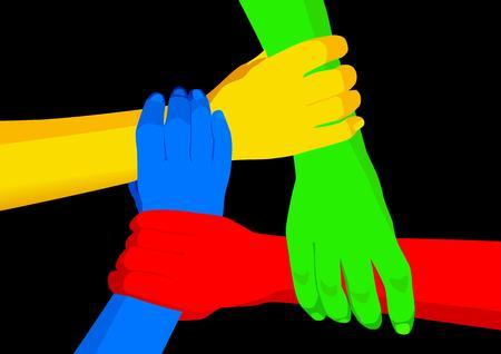 naciones unidas: Unidad en la diversidad Vectores