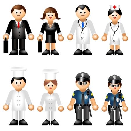 poliziotta: Figure iconiche dei mestieri