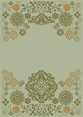 Ornament in grey Stock Vector - 8537827