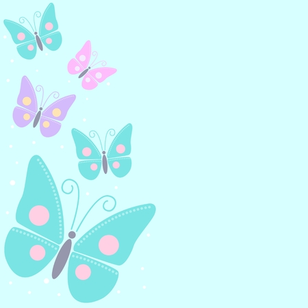 illustration of butterflies Vector