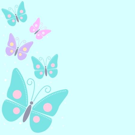 illustration of butterflies Vector