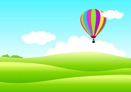 Air Balloon Stock Vector - 9511182