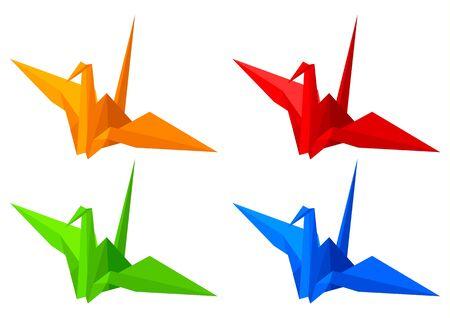 Origami Birds Stock Vector - 9511178