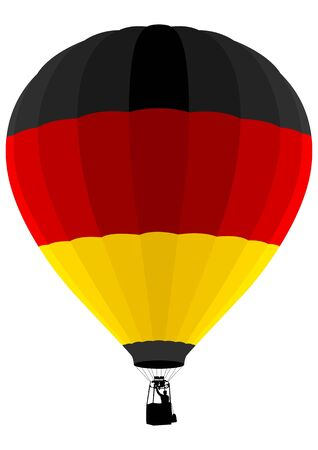 float fun: Air Balloon, Germany Flag