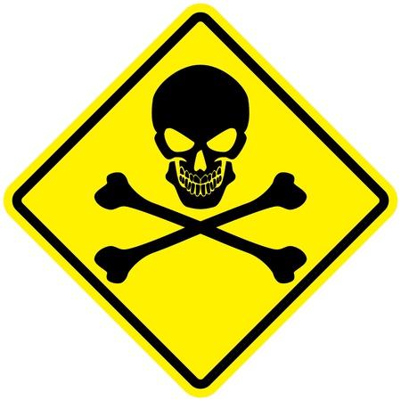 Signo de Jolly Roger Ilustración de vector
