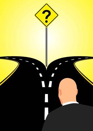 Carretera bifurcada