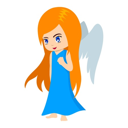 Vector illustration of Virgo in cartoon style Stock Vector - 9930598