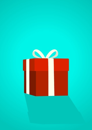 Illustration of a gift box Vector