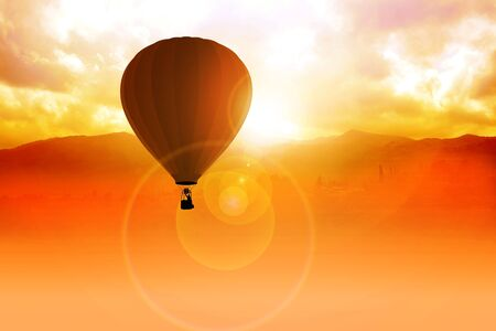 Air Balloon  Stock Photo - 12930132