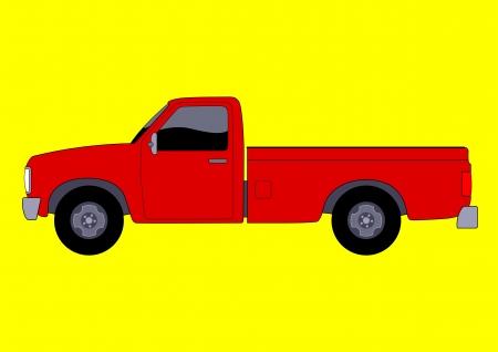 pick up: Vector illustration d'un pick-up