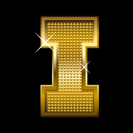 tipos de letras: La fuente de oro carta de tipo I
