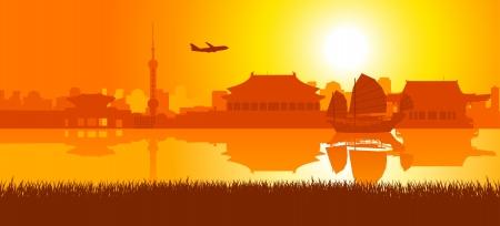有名な建物、東アジアのモニュメント 写真素材 - 15440108