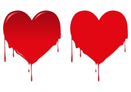 illustration of bleeding heart Stock Vector - 16620860