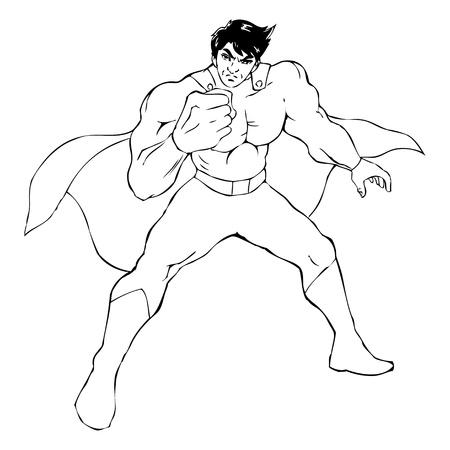 marvel: Prinzipdarstellung eines Superhelden