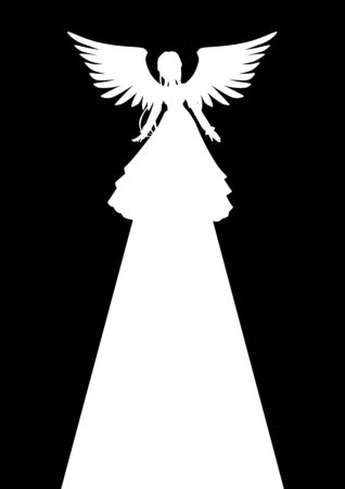 Illustration of an angel Vector