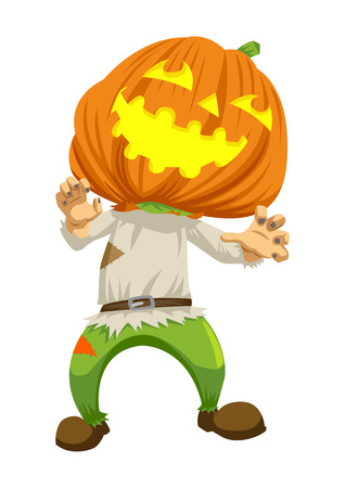 haloween: Cartoon illustration of Halloween ghost Illustration