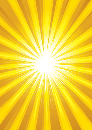 sunrays: Illustration of yellow light burst as the background