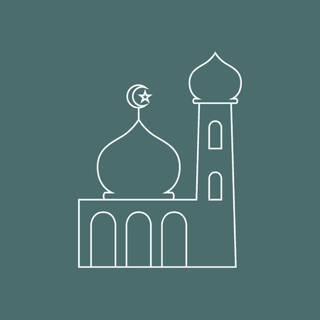 Simple graphic of a mosque