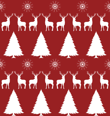 christmas paper: Decorative ornament for Christmas, Christmas background, seamless pattern for wrapping paper Illustration