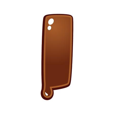 chocolate melt: Chocolate melt font type letter I