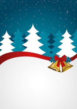 seasons greetings: Seasons greetings card design template, Christmas background Vettoriali