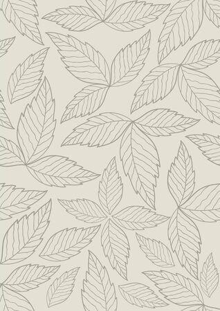 seamless pattern: Leaves seamless pattern