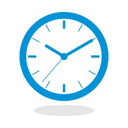 Icône d'une horloge pour le site Web ou application mobile