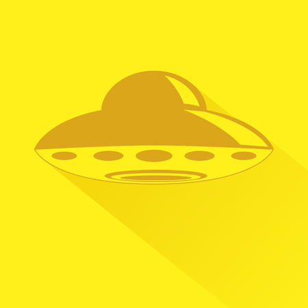 unidentified: Simple graphic of unidentified flying object