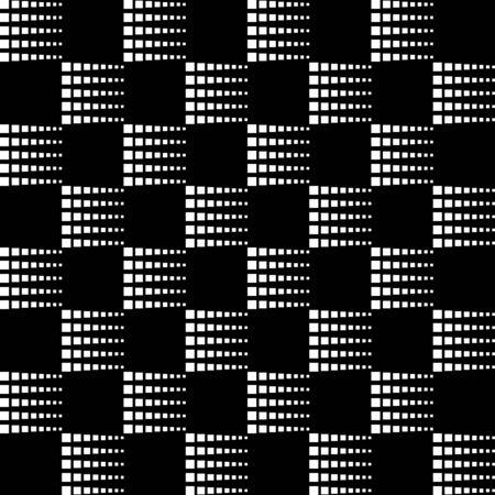 Squares geometric seamless pattern, modern pattern design