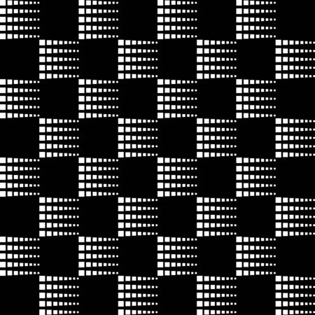 Squares pattern géométrique, conception de modèle moderne
