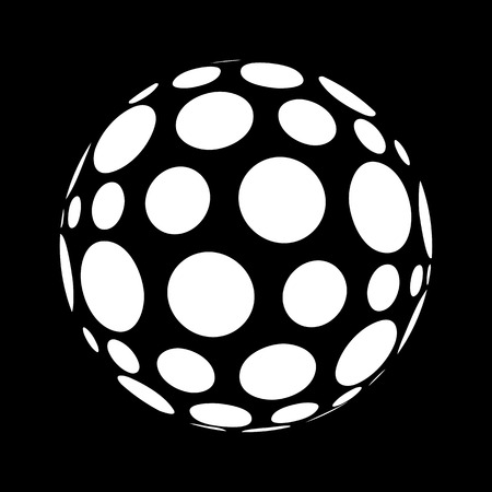 spheres: Abstract polka dots in sphere form