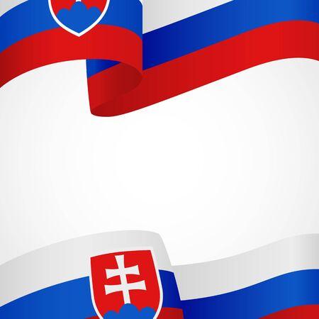 Decoration of Slovakia insignia on white