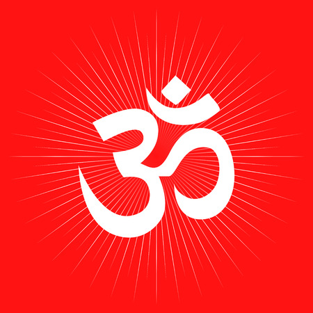 Aum Or Om Symbol Hindu Hinduism Religion Royalty Free Cliparts