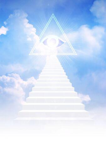 jacob: Jacob ladder leads to freemason symbol