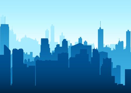 metropolitan: Graphic illustration of a cityscape