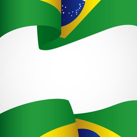 federative republic of brazil: Decoration of Brazil insignia on white