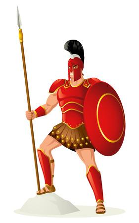 Greek god Vettoriali