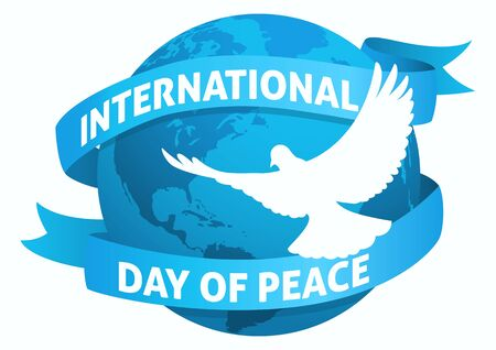 International Day of Peace symbol for web banner or icon.