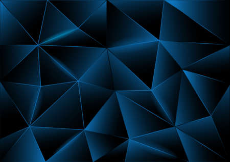 Abstract background of triangles, vector modern design Illustration