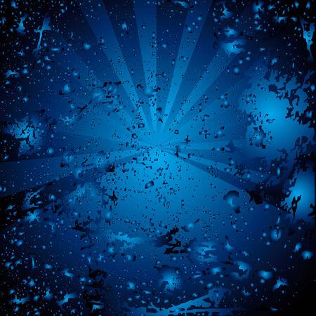 wizardry: vector blue background