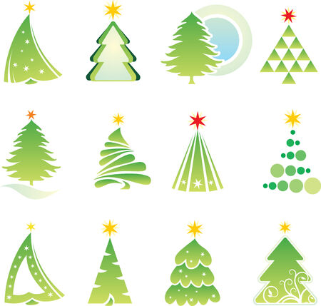 set of christmas elements Stock Vector - 3645482