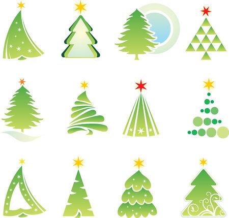 christmas elements: set of christmas elements