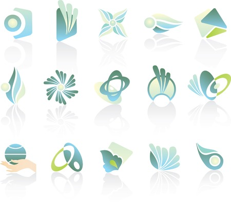 design logo elements Stock Vector - 3649682