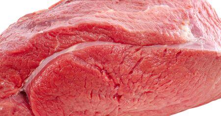 fresh beef on white background Stock Photo - 4621285