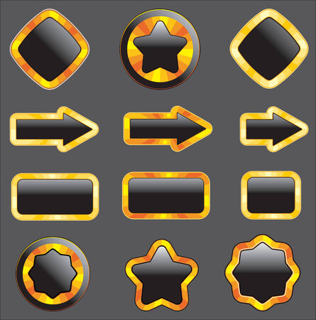 set of design elements Stock Vector - 4905315