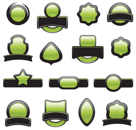 set of design elements Vector