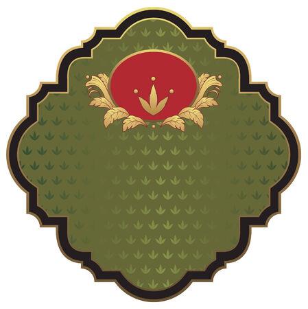 green label Vector