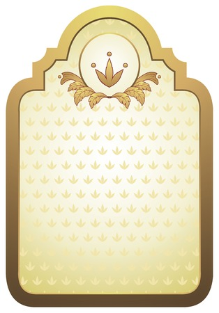 gold label Vector