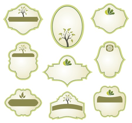 set of labels Stock Vector - 5700559