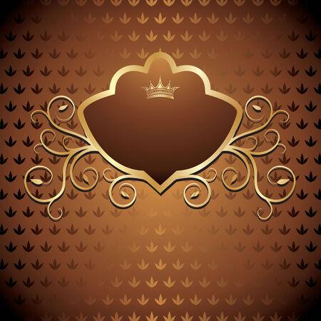 vintage emblem Иллюстрация
